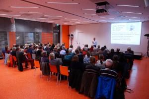 Knapp 80 Gäste hörten den Vortrag von Clemens Ronnefeldt