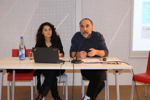 Input gaben Esra Kücük, JIK Berlin, und Dr. Harald Munding, VNN, Augsburg