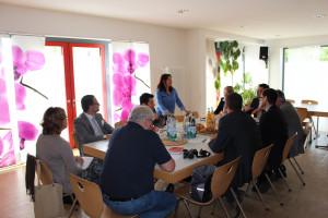 Begrüßung zum Fachgespräch im Mehr-Generationen Treffpunkt Herrenbach