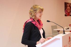 Begrüßung durch Ulrike Bahr, MdB