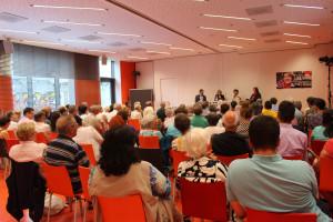 Die Veranstaltung war sehr gut besucht. Dies macht deutlich, wie wichtig die öffentliche Debatte in unserer Gesellschaft ist.