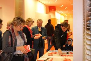 Vor Beginn der Veranstaltung gab es viele Informationsmaterialien