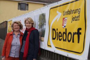 Mit MdB Rita Hagl-Kehl zum Thema Bundesverkehrswegeplan.
