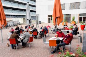 Lothar Binding zu Besuch in Augsburg
