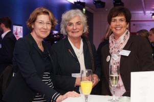 Mit den beiden Bundestagskolleginnen Petra Crone und Birgit Kömpel.