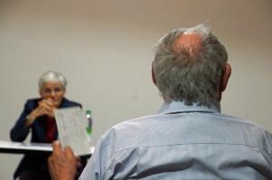 Im Anschluss an den Vortrag kam es zu einem intensiven Austausch mit der Referentin