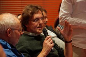 Viele Ortsvereinsvorsitzende, hier Peter Biet aus dem Herrenbach, diskutierten mit.