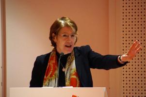 Ulrike Bahr lobte die Debattenkultur der SPD.