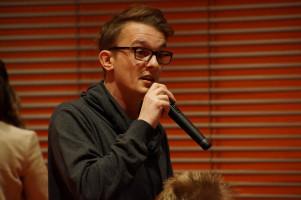 Juso und Ortsvereinsvorsitzender Vincent Bentele.