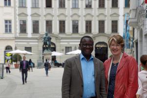Mit dem Bundestagsabgeordneten Dr. Karamba Diaby