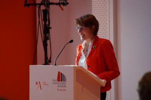 MdB Ulrike Bahr führte ins Thema Integration ein.
