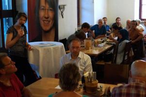 Rund 60 Gäste waren zur Diskussion in die Zeughausstuben gekommen.