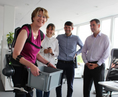 Zu Besuch bei German Bionic, Hersteller von Exoskeletten