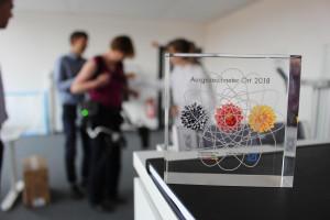 """German Bionic ist ein """"Ausgezeichneter Ort im Land der Ideen""""."""