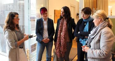 Gespräch mit der Kita-Leiterin Bettina Feierabend