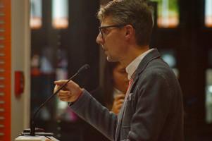 MdB Lars Castellucci sagte, es sei die größte Herausforderung in der aktuellen Demokratie, dass keine neue soziale Frage produziert würde.