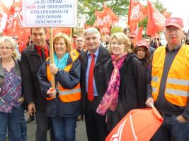 Die Abgeordneten zeigen sich solidarisch