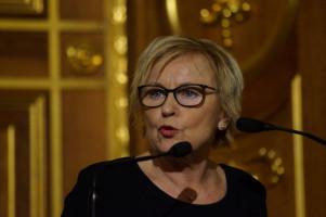 Bascha Mika, Chefredakteurin der Frankfurter Rundschau, sprach beim Empfang zum internationalen Frauentag über den weiten Weg bis zur endgültigen Gleichstellung von Mann und Frau.