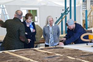 Bei SÄBU werden Systembauten aus Holz hergestellt.