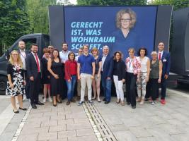 Als Delegierte beim BayernSPD Parteitag in Weiden