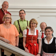 Begleiteten Ulrike Bahr, MdB bei ihrem Besuch in der Wertachstadt: Ralf Nahm, Helga Ilgenfritz, Pascal Lechler, Ulrike Bahr, Eckard Rasehorn und Catrin Riedl