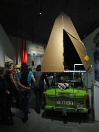 """Führung durch die Dauerausstellung """"Alltag in der DDR"""", Museum in der Kulturbrauerei (Foto Angelika Lonnemann)"""