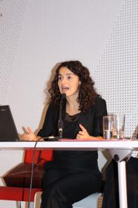 Esra Kücük argumentierte engagiert und eloquent.