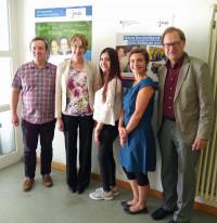 MdB Ulrike Bahr zu Besuch beim Jugendmigrationsdienst der Diakonie Augsburg.