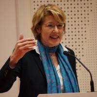 """Ulrike Bahr hatte zu einer Diskussionsveranstaltung zum Thema """"Innere Sicherheit"""" eingeladen."""