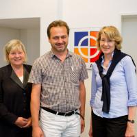 Fachgespräch mit dem AHPV, Ulrike Bahr und Helga Kühn-Mengel